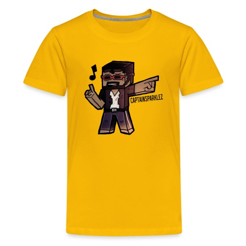 Cartoon Singer - Kids' Premium T-Shirt