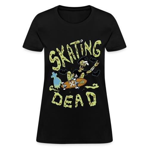 Skating dead - Women's T-Shirt