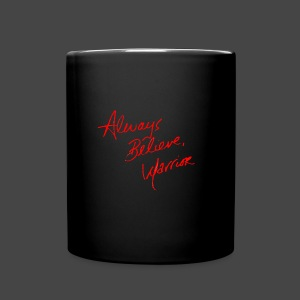 Ultimate Warrior Autograph Mug - Full Color Mug