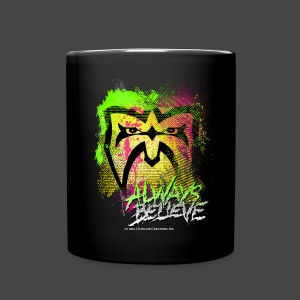 Ultimate Warrior Always Believe Explosion Mug - Full Color Mug