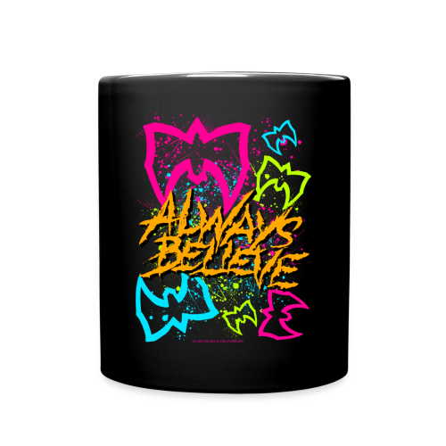 Ultimate Warrior Always Believe 80's Mug - Full Color Mug