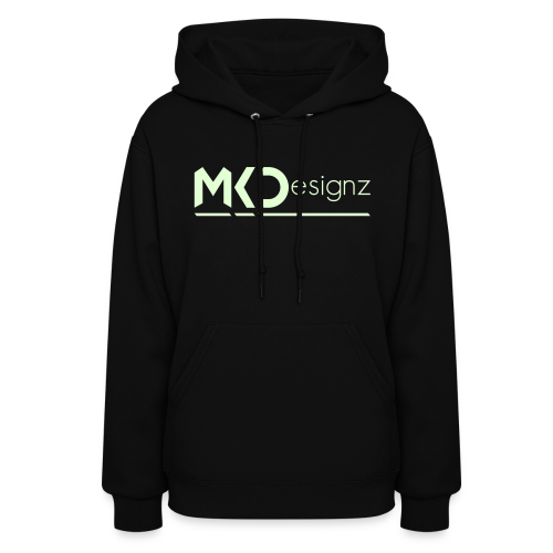 MK Designz Official Shirt (Glowin the Dark) - Women's Hoodie