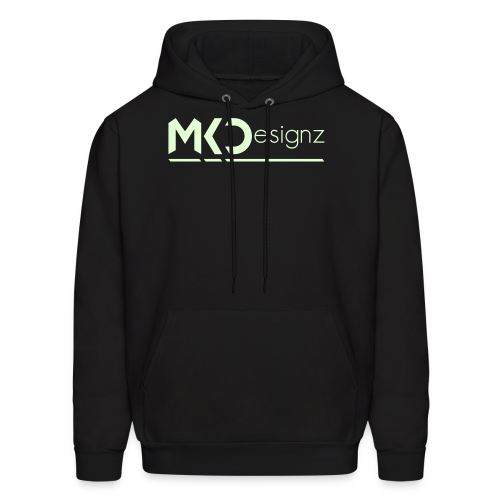 MK Designz Official Shirt (Glowin the Dark) - Men's Hoodie