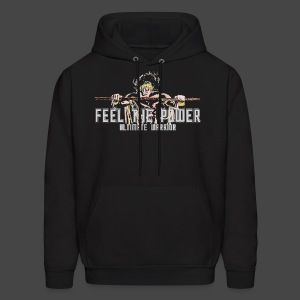 Ultimate Warrior Feel The Power Hoodie - Men's Hoodie