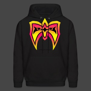 Ultimate Warrior Championship Face Paint Hoodie - Men's Hoodie