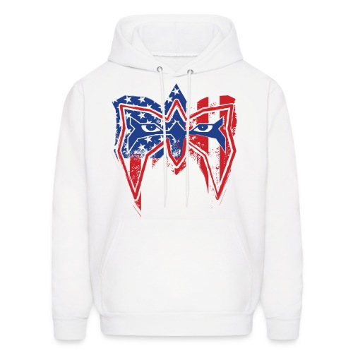 Ultimate Warrior Always Believe USA Hoodie - Men's Hoodie