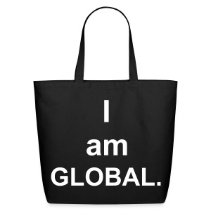I am Global (created for charity) - Eco-Friendly Cotton Tote