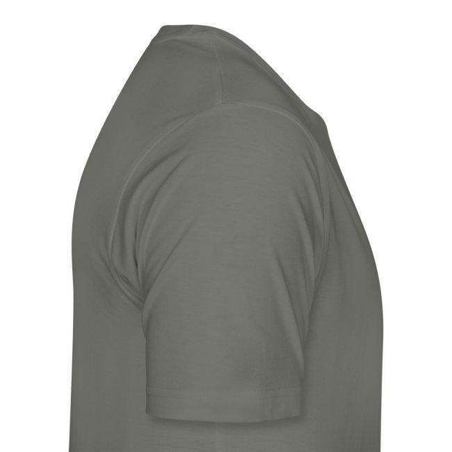 Men's Cut Premium T-Shirt (French) - Lettre Blanc