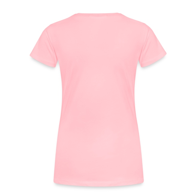 Women's Premium T-Shirt (French) - Lettre Noir