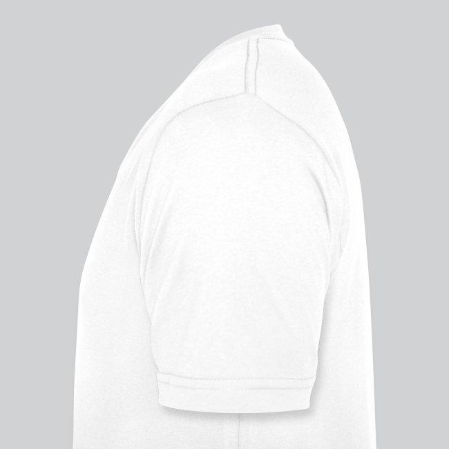 Unity Men's V-Neck T-Shirt by Canvas (Black Logo)   Men's V-Neck T-Shirt by  Canvas
