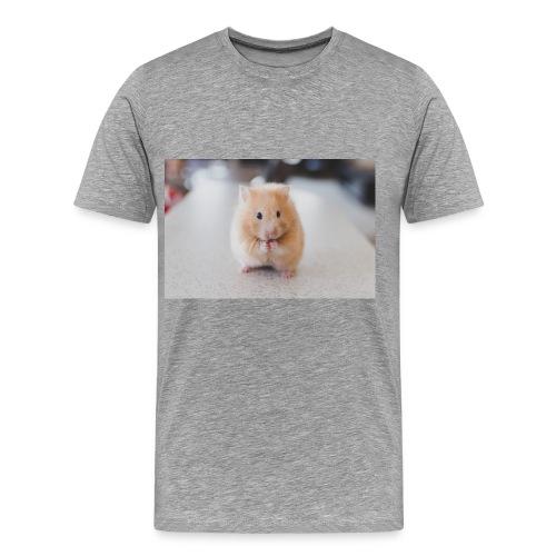 Serious Hamster - Men's Premium T-Shirt