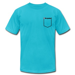 BULGEBULL POCKET2 - Men's T-Shirt by American Apparel