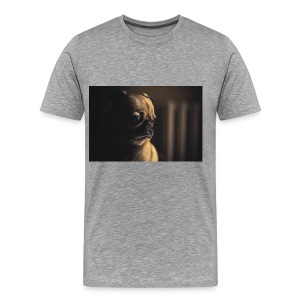 Serious Pug - Men's Premium T-Shirt