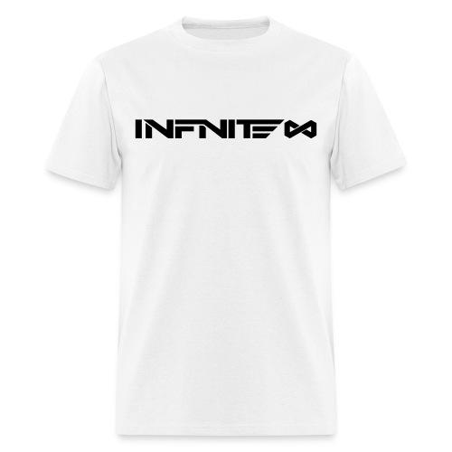 Infinite Logo Black On White - Men's T-Shirt
