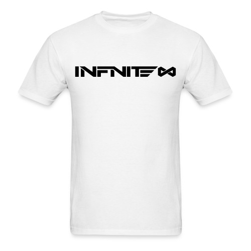 Infinite Logo Black On White - Men's T-Shirt