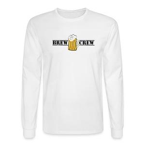 BrewCrew Men's Long-Sleeve - Men's Long Sleeve T-Shirt