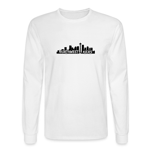Northwest Kicks Long Sleeve T-Shirt - Men's Long Sleeve T-Shirt