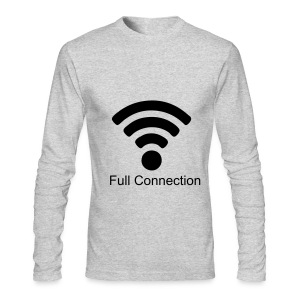 Full Connection tee-shirt - Men's Long Sleeve T-Shirt by Next Level