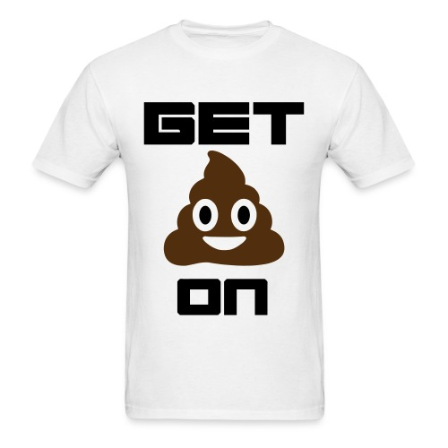 Get Pooped On - Men's T-Shirt