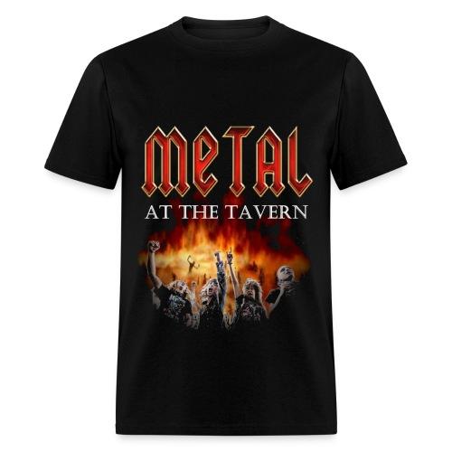 Metal At The Tavern Single Sided T-Shirt - Men's T-Shirt