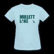 Women's T-Shirts ~ Women's T-Shirt ~ Mullett Lake Michigan