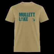 T-Shirts ~ Men's T-Shirt ~ Mullett Lake Michigan