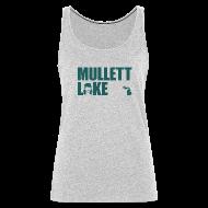 Tanks ~ Women's Premium Tank Top ~ Mullett Lake Michigan