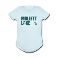 Baby Bodysuits ~ Baby Short Sleeve One Piece ~ Mullett Lake Michigan
