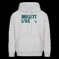 Hoodies ~ Men's Hoodie ~ Mullett Lake Michigan