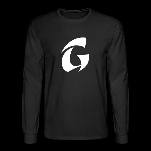 GcpMC Logo w/ Black Long Sleeve Tee! - Men's Long Sleeve T-Shirt