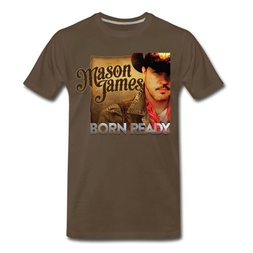MJ Born Ready CD release T - Men's Premium T-Shirt