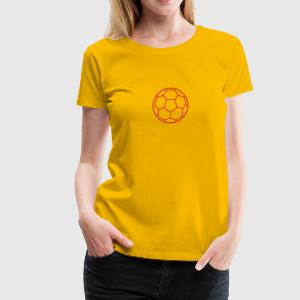ball handball 2 T-Shirts - Women's Premium T-Shirt