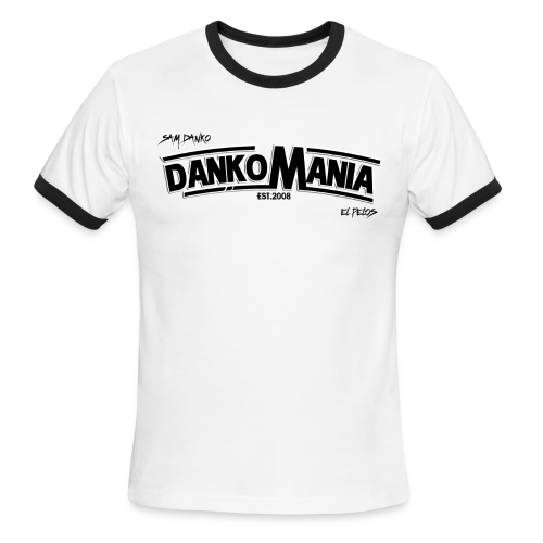 DankoMania by Los Danko - Men's Ringer T-Shirt