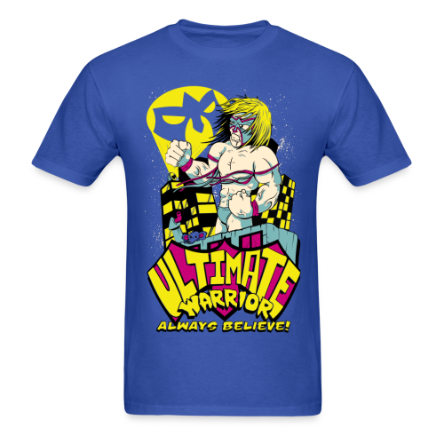 Ultimate Warrior Comic Shirt - Men's T-Shirt