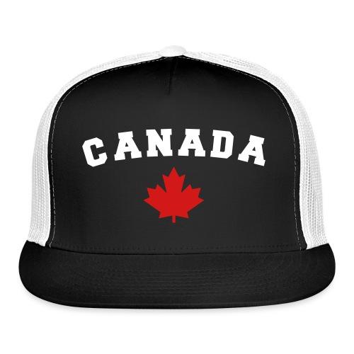 Canada Arch Text - Trucker Cap