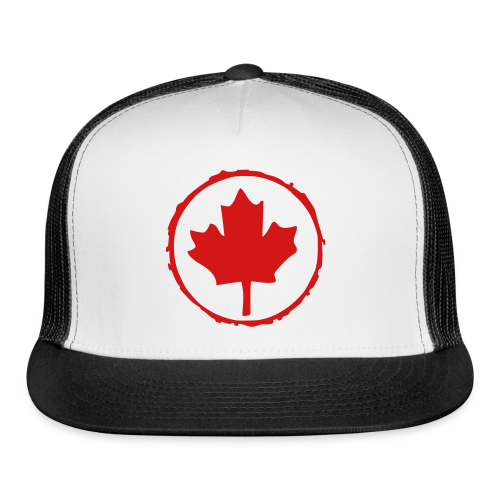 Retro Leaf - Trucker Cap