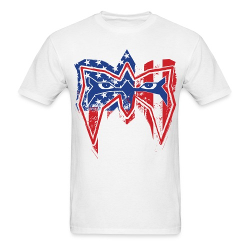 Ultimate Warrior Always Believe USA Shirt - Men's T-Shirt