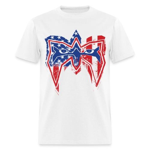 Ultimate Warrior Always Believe USA Shirt - Men's T-Shirt