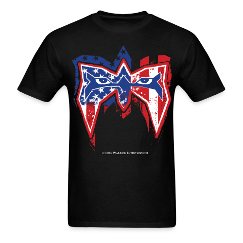 Ultimate Warrior USA Shirt - Men's T-Shirt