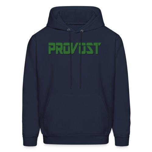 Provost - Logo Hoodie (Green & Blue) - Men's Hoodie