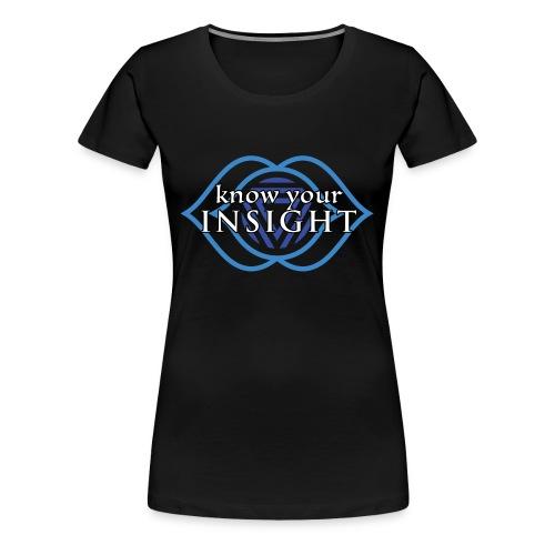 Know Your Insight Third Eye Chakra T-Shirt - Women's Premium T-Shirt