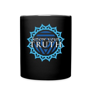 Know Your Truth Throat Chakra Mug - Full Color Mug
