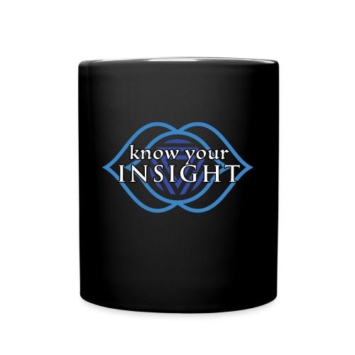 Know Your Insight Third Eye Chakra Mug - Full Color Mug