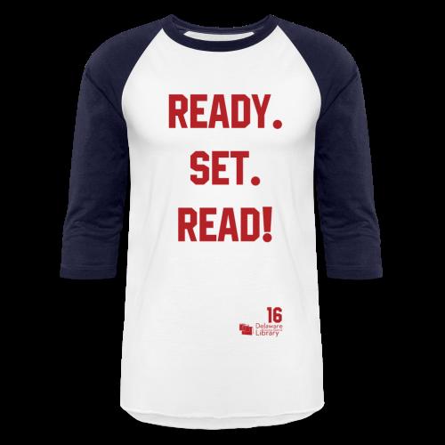 Ready. Set. Read! - Baseball T-Shirt