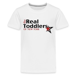 The Real Toddlers of New York (Light Colored Tees for Youth Sizes) - Kids' Premium T-Shirt