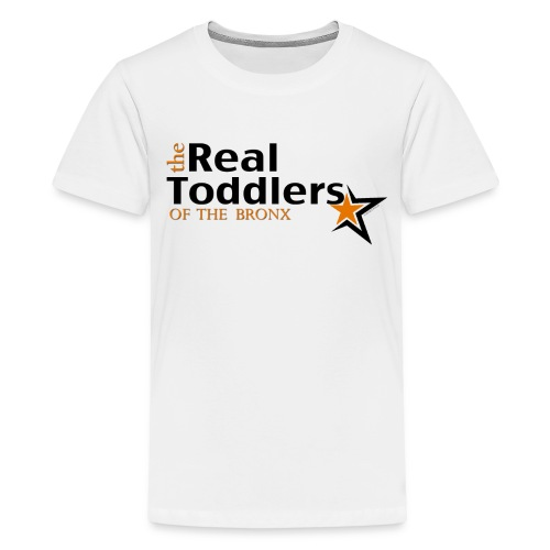 The Real Toddlers Of The Bronx (YOUTH White Tees XS, S, M, L) - Kids' Premium T-Shirt