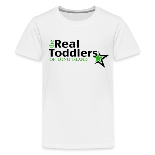 The Real Toddlers of Long Island (Light Colored Tees for Youth Sizes) - Kids' Premium T-Shirt