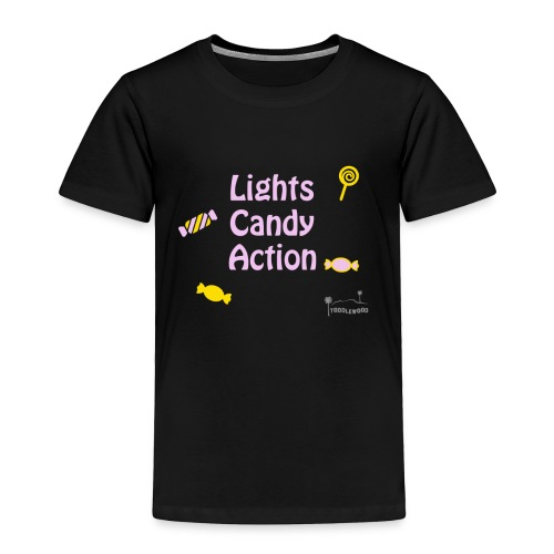 Lights Candy Action - Toddler Premium T-Shirt