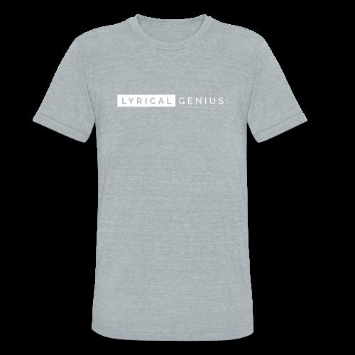 Lyrical Genius Tri-Blend - Unisex Tri-Blend T-Shirt