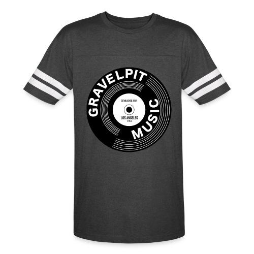 GRAVELPIT RECORD LOGO - Vintage Sport T-Shirt